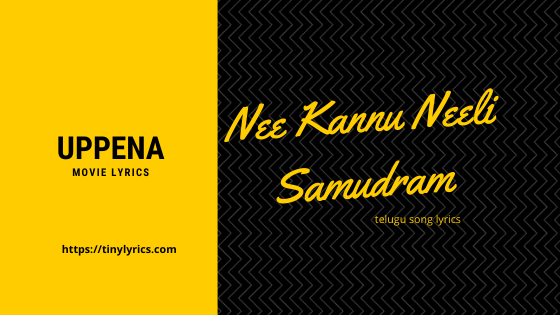 Nee Kannu Neeli Samudram Song Lyrics Telugu